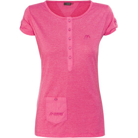 Maier Sports Clare T-Shirt Women Raspberry